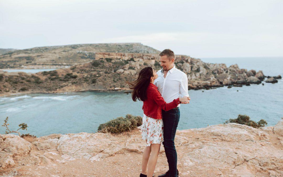 Sesja Marie-Claire i Rafała na Malcie
