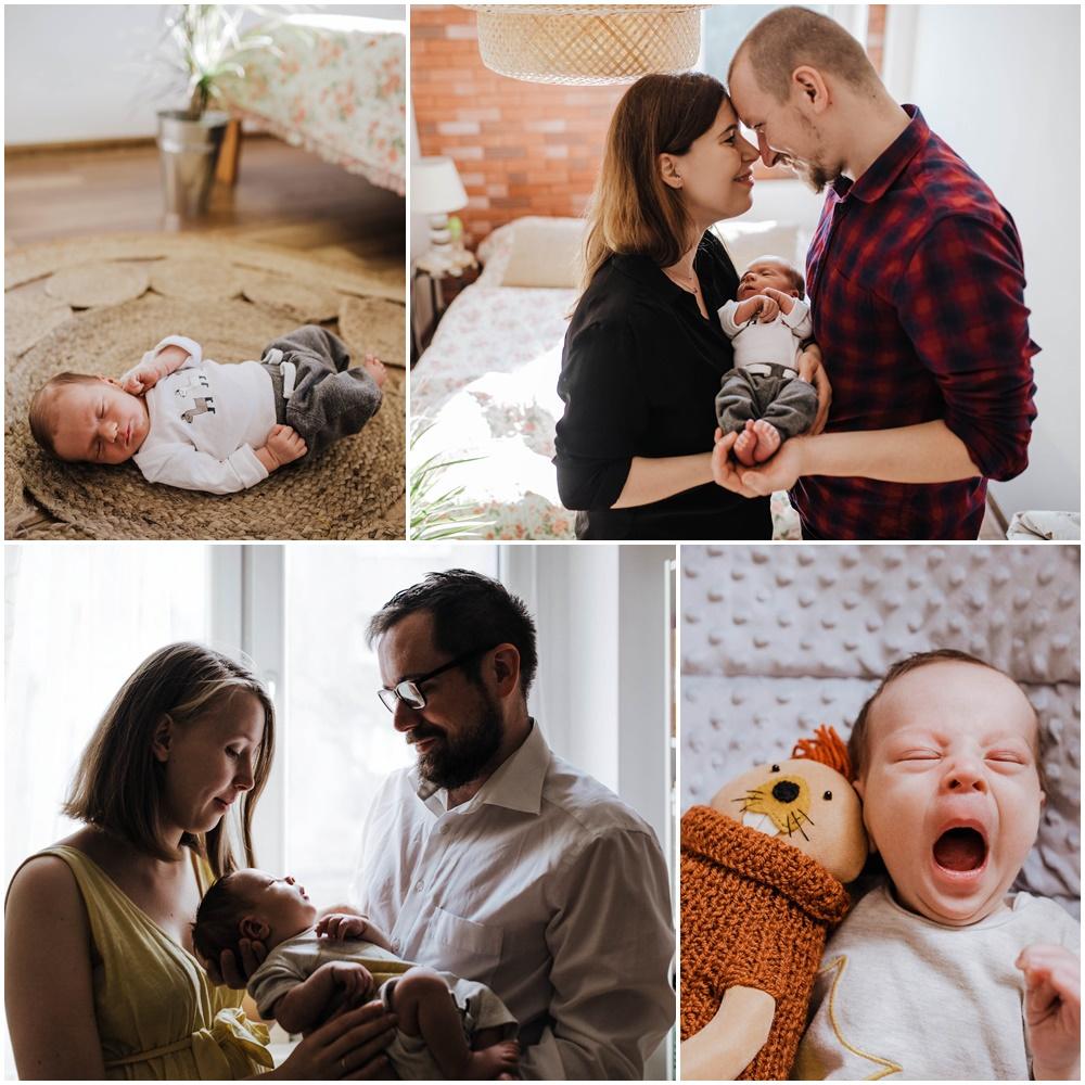 domowa sesja noworodkowa bytom