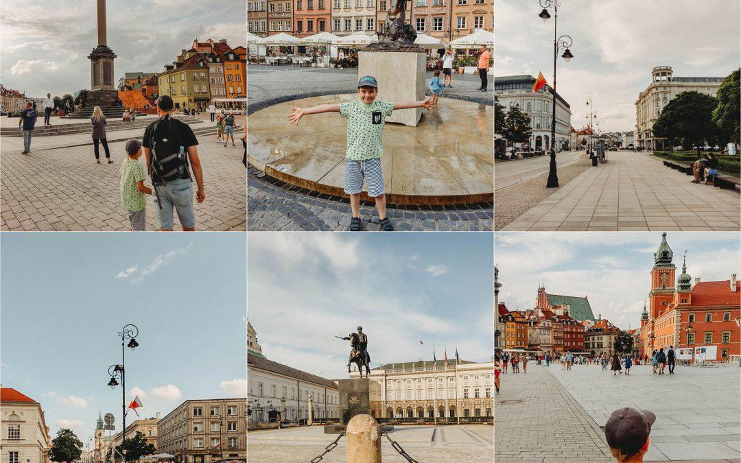 Warszawa z 6-latkiem